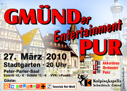 Gmünder entertainment Pur 2010