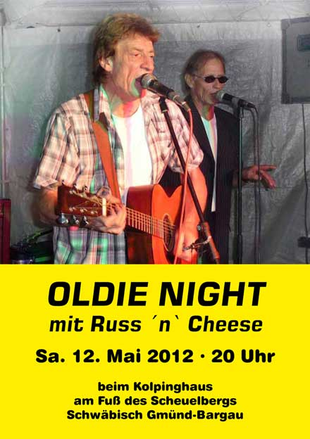 OldieNight mit RussnCheese
